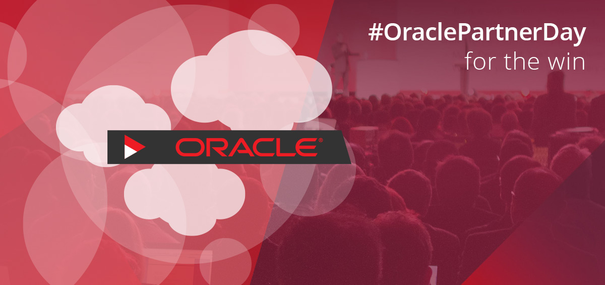 Oracle Partner Day for the win