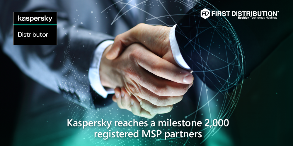 Kaspersky reaches a milestone 2,000 registered MSP partners